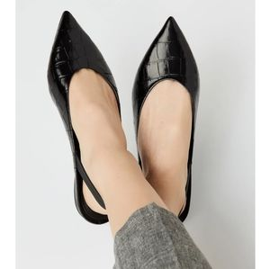 Michael Kors Eliza Flat Slingback- Size 8.5
